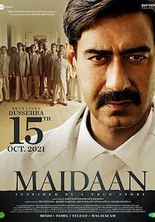 Maidaan Movie Official Trailer, Release Date, Cast, Songs, Review