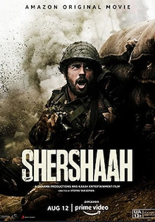Shershaah Movie Official Trailer, Release Date, Cast, Songs, Review