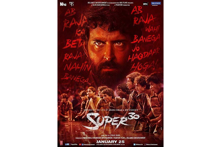 Super 30 Movie Ticket Booking Offers, Release Date, Cast, Trailer, Songs, Review