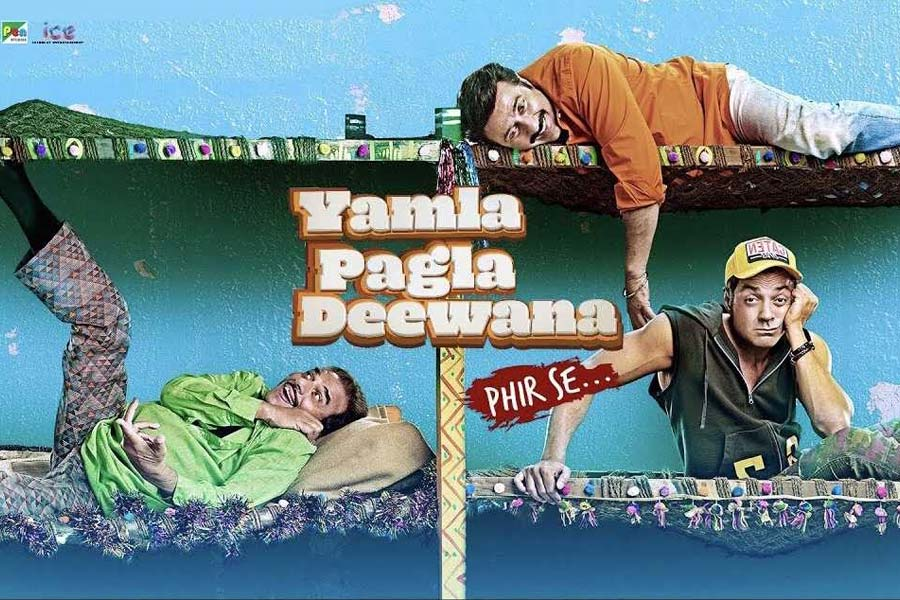 Yamla Pagla Deewana: Phir Se Movie Ticket Offers, Online Booking, Ticket Price, Reviews and Ratings