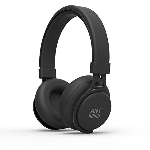 Ant Audio Treble 900 Wireless Bluetooth Headphone (Carbon Black)