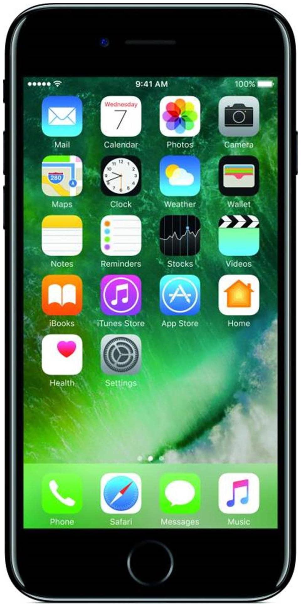 Apple iPhone 7 (Jet Black, 2GB RAM, 32GB)