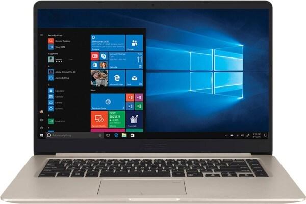 Asus Vivobook S15 S510UN-BQ052T Laptop (Windows 10, 8GB RAM, 1000GB HDD, Intel Core i7, Gold, 15.6 inch)