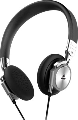 boAt BassHeads 950 Wired Headphone (Silver)