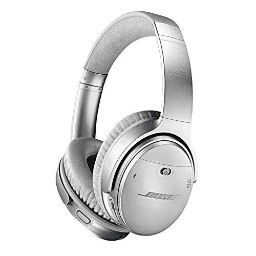 Bose QuietComfort 35 II Wireless Bluetooth Headphone (Silver)