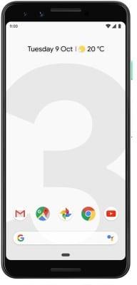 Google Pixel 3 (Clearly White, 4GB RAM, 128GB)