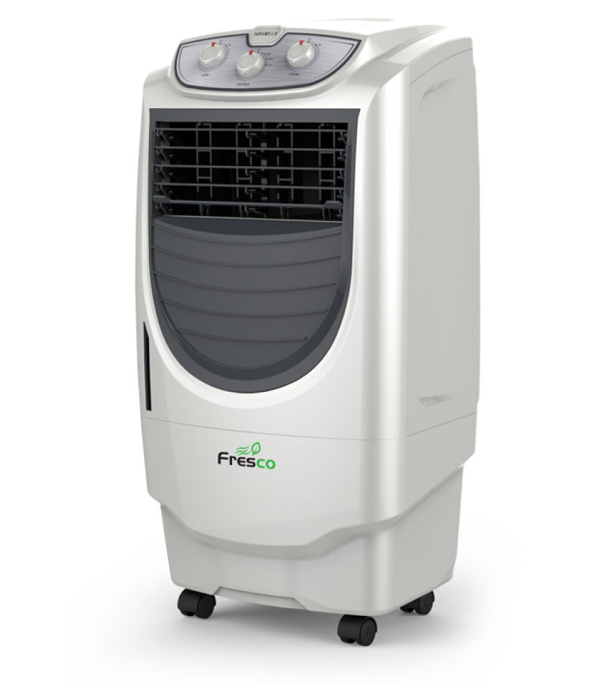 Havells Fresco Air Cooler (Grey & White, 24 L)