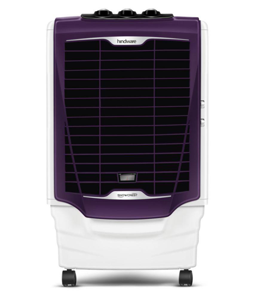 Hindware Snowcrest 36H Air Cooler (Purple & White, 36 L)