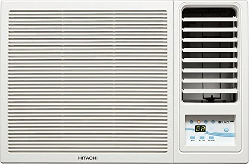 Hitachi 1.5 Ton 5 Star Window AC (Copper Condensor, RIDAA 3100F RSC318HBD, White)
