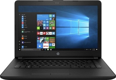 HP 14Q-CS0005TU Laptop (Windows 10, 4GB, 1000GB, Intel Core i3, 7th Generation, Jet black, 14.0 inch)