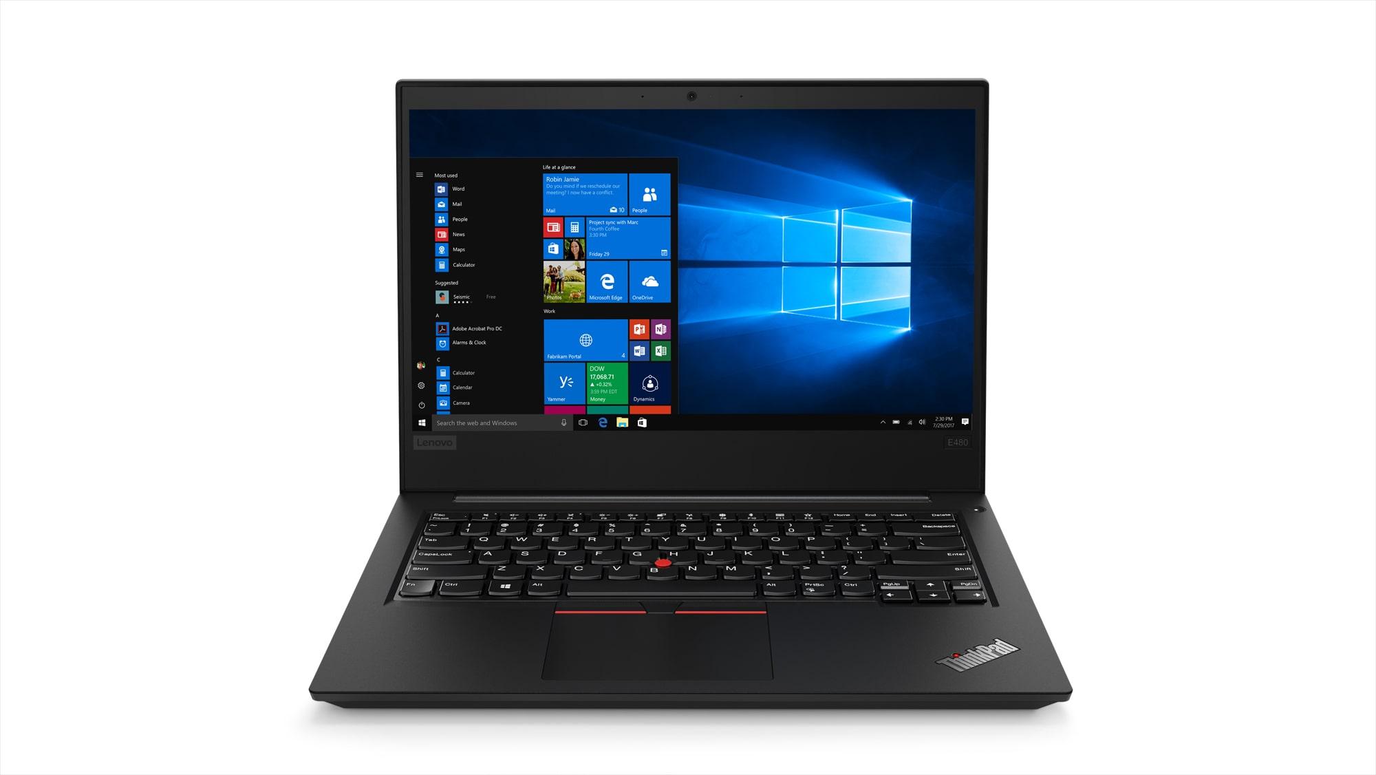 Lenovo Thinkpad E480 Laptop (Windows 10, 4GB RAM, 1000GB HDD, Intel Core i3, Black, 14.1 inch)