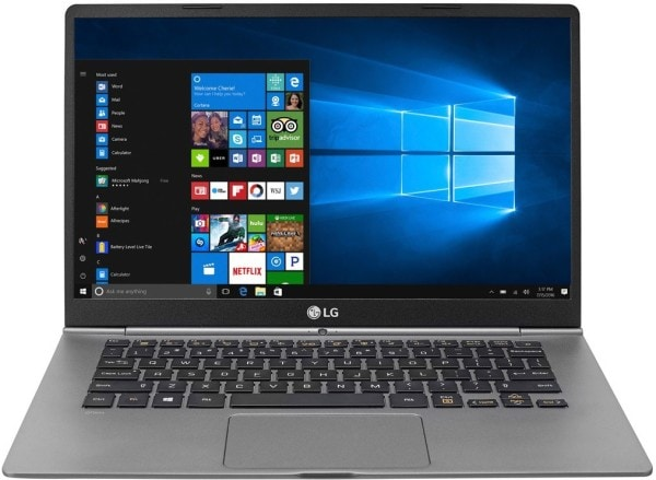 LG Gram 14Z970-G Laptop (Windows 10, 8GB RAM, 256GB HDD, Intel Core i5, Dark Silver, 14 inch)