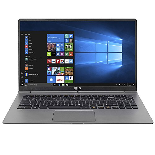 LG Gram Thin 15Z975-U.AAS7U1 Laptop (Windows 10, 16GB RAM, 256GB HDD, Intel Core i7, Black, 15.6 inch)