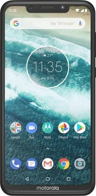Motorola One Power (Black, 4GB RAM, 64GB)