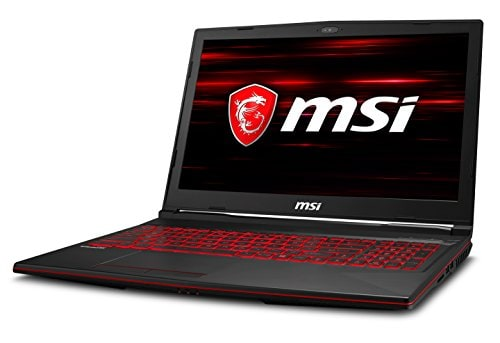 MSI GL63-8RD-455IN Laptop (Windows 10, 8GB RAM, 1000GB HDD, Intel Core i5, Black, 15.6 inch)
