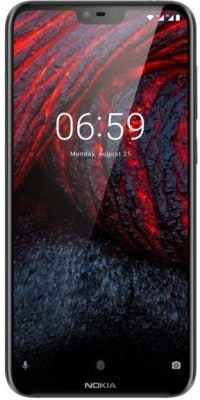 Nokia 6.1 Plus (Black, 4GB RAM, 64GB)