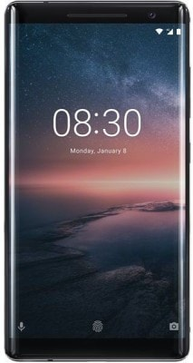 Nokia 8 Sirocco (Black, 6GB RAM, 128GB)