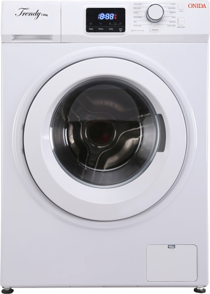 Onida 7.5 kg Fully Automatic Top Load Washing Machine (TRENDY 75, White)