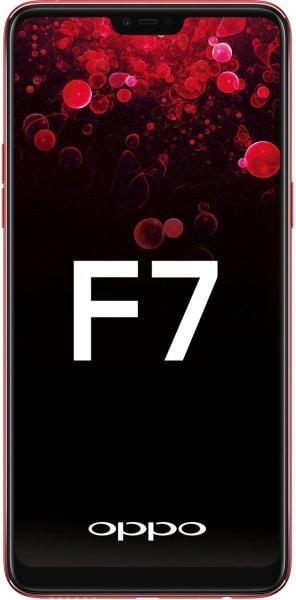 Oppo F7 (Red, 4GB RAM, 64GB)
