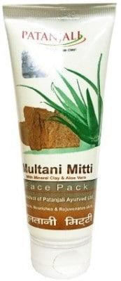 Patanjali Aloe Vera Multani Mitti Face Pack (60GM)