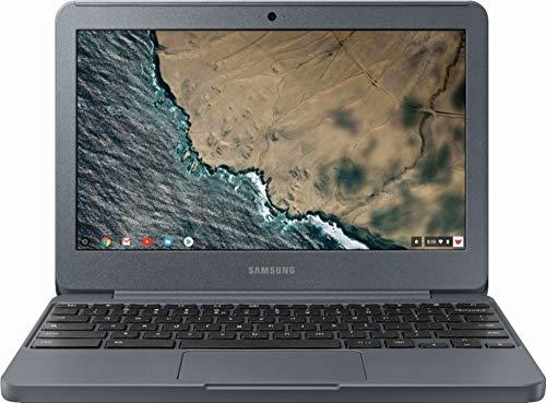 Samsung Chromebook Laptop (Chrome, 4GB RAM, 32GB HDD, Intel Celeron, Night Charcoal, 11.6 inch)