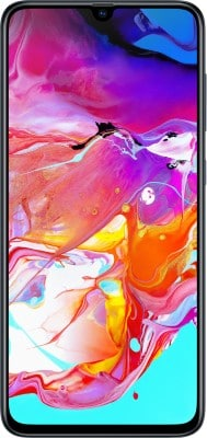 Samsung Galaxy A70 (Black, 6GB RAM, 128GB)