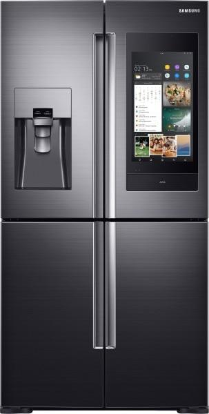 Samsung 810 L Frost Free Side by Side Inverter Technology Refrigerator (RF28N9780SG, Caviar Black)