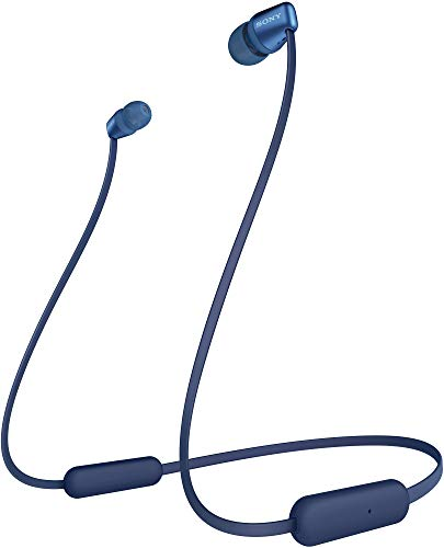 Sony WH-C310 Wireless Bluetooth Headphones (Blue)