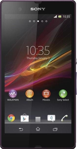 Sony Xperia Z (Purple, 2GB RAM, 16GB)