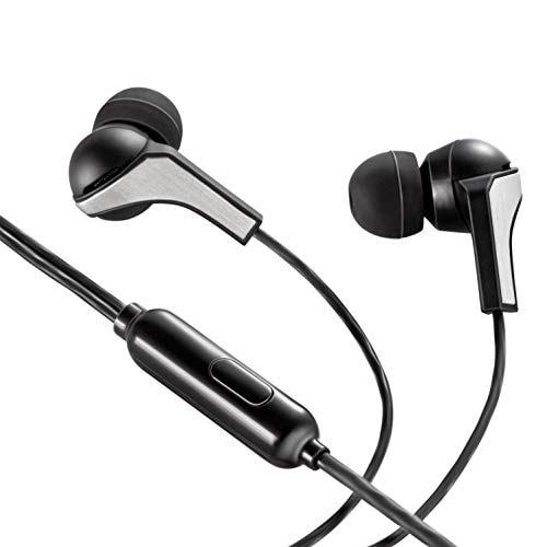 Syska HE1100 Beat Pro Wired Earphones (Black)
