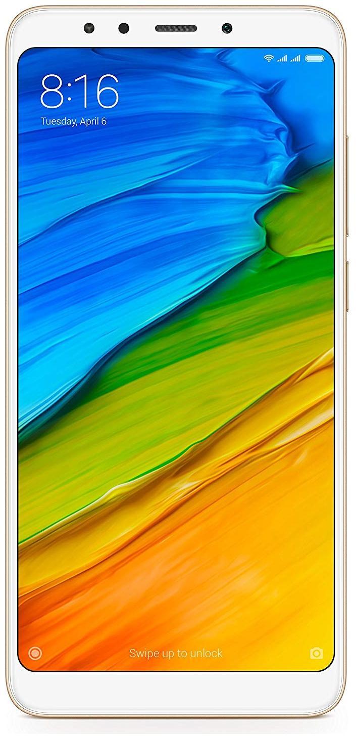 Xiaomi Redmi 5 (Gold, 4GB RAM, 64GB)
