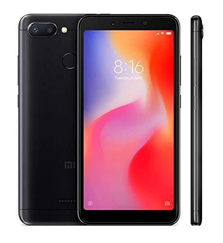 Xiaomi Redmi 6 (Black, 4GB RAM, 64GB)