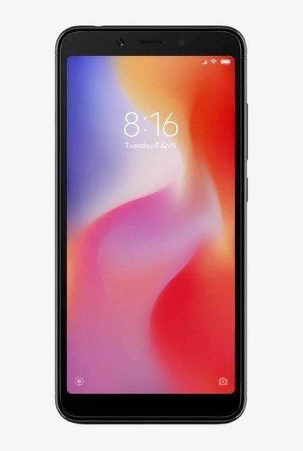 Xiaomi Redmi 6 (Black, 3GB RAM, 64GB)
