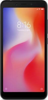 Xiaomi Redmi 6 (Black, 3GB RAM, 32GB)