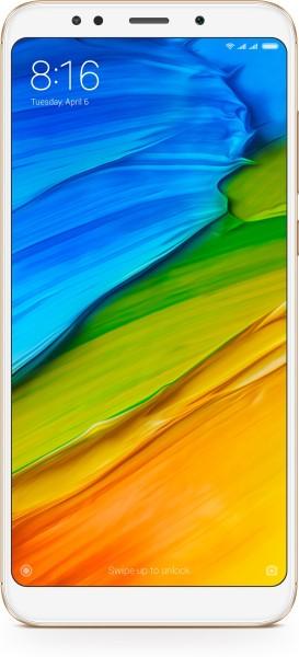 Xiaomi Redmi Note 5 (Gold, 4GB RAM, 64GB)