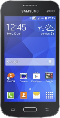 Samsung Galaxy Star Advance (Black, 512MB RAM, 4GB) Price in India