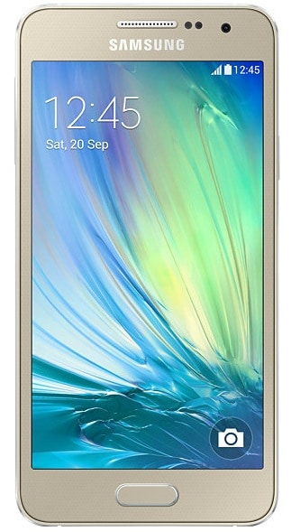 Samsung Galaxy A3 4G LTE (Gold, 1GB RAM, 16GB) Price in India