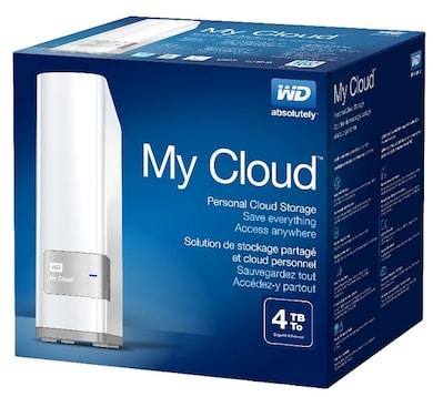 WD My Cloud Personal Cloud Storage 4 TB White Price in India