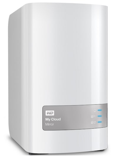 WD My Cloud Mirror Personal Cloud Storage 12 TB White Price in India