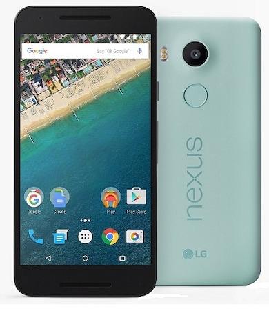 LG Nexus 5X (Ice Blue, 2GB RAM, 16GB) Price in India