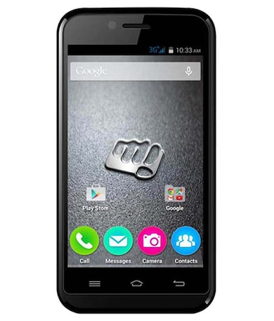 Micromax Bolt S301 (Black, 512MB RAM, 4GB) Price in India