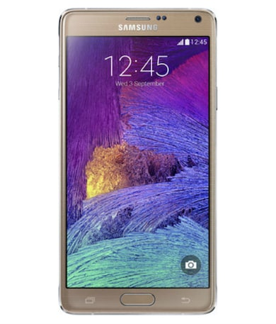 Samsung Galaxy Note 4 (Gold, 3gb RAM, 32GB) Price in India