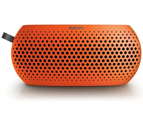 Buy Philips SBM130 Portable USB Speaker Orange Online