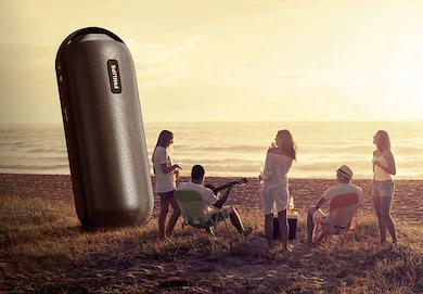 Philips BT 6000 Wireless Portable Speaker Black Price in India