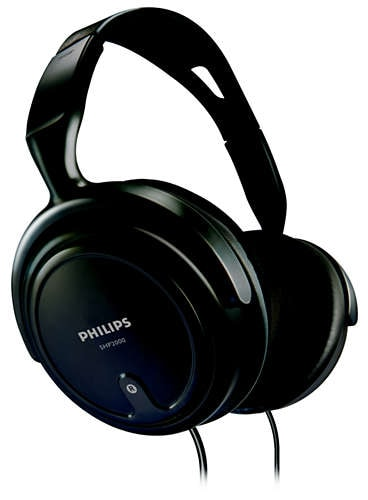 Philips SHP 2000 Stereo Headphonces Black Price in India
