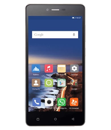 Gionee F103 (Black, 2GB RAM, 16GB) Price in India