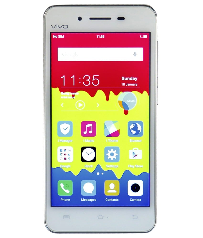 Buy Vivo Y27L (White, 1GB RAM, 8GB) Price in India (11 Aug 2019),  Specification & Reviews