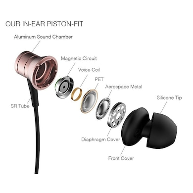 1MORE Piston Fit In-Ear Headphones with Microphone Pink Price in India