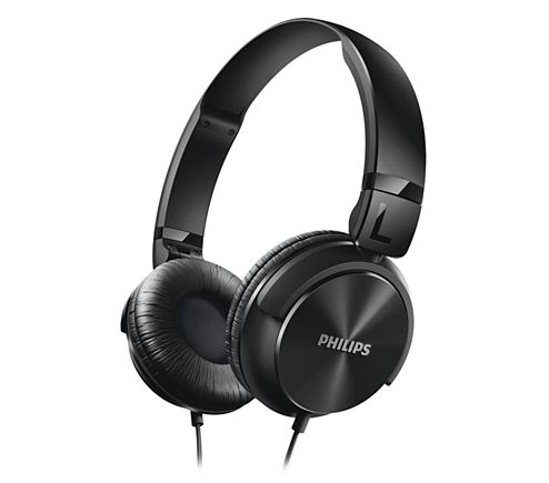 Buy Philips SHL3060 Stereo Dynamic Wired Headphone Black Online