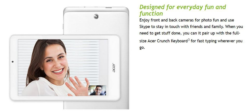 Acer Iconia W1-811 Tablet Photo 5